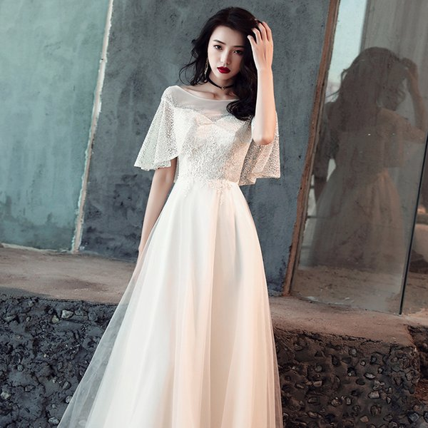 861ce7f32e5 Elegant White Qipao Full Length Cheongsam Dress Vestidos Chinos Oriental Evening  Gowns Classic Party Dress Big