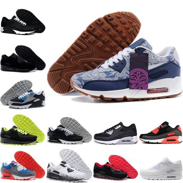 Compre Nike Air Max 90 Zapatillas Deportivas Clásicas Más Baratas 90  Zapatillas Deportivas Para Hombre Y Para Mujer Zapatillas De Deporte Para  Correr ...