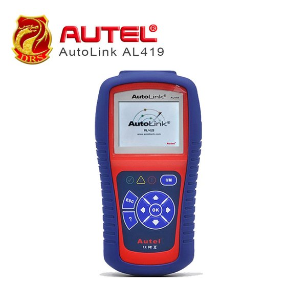 [Authorized Distributor] Auto diagnostic Code Reader Autel AutoLink AL419 Auto Retrieves vehicle information (VIN, CIN CVN)