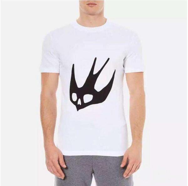 Mens fashion t shirt brand designer swallow printed classic short sleeve t shirt geometry harajuku tee shirt mens summer tops