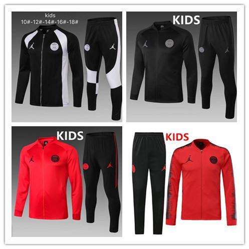 KIDS 2019 2020 psg Jordam X tuta da allenamento da calcio 19/20 Paris Jordam tuta da calcio CAVANI MBAPPE maillot de foot