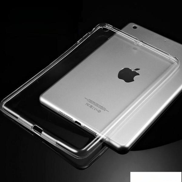 Housse en silicone pour iPad Air 2 Air 1 Effacer Étui transparent pour iPad 2 3 Pour iPad 4 Mini Mini 4 souple TPU Retour Housse Tablet Case