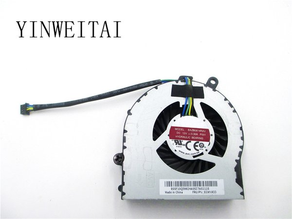 Envío gratis para BAZB0614R2U P001 01MN933 DC 12V 0.36A 4-wire 4-pin Server Laptop Fan.
