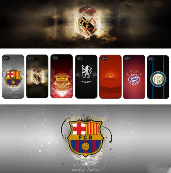 19 Футбол Стиль Модный дизайн корпуса телефона для IphoneXSMAX XR XS / X Iphone 7P / 8Plus 7/8 6P / 6sPlus 6 / 6s Стиль знаменитой Европы FC с 12 Стиль