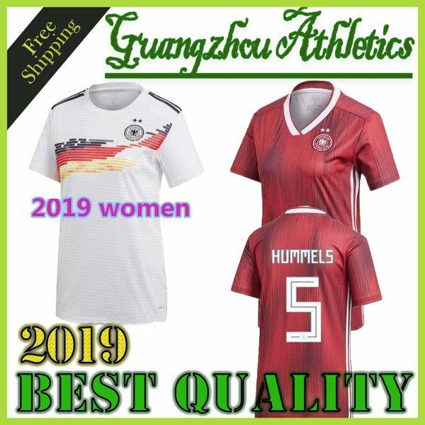 36b84f0ef9 Compre Alemanha 2019 Mulheres World Cup Home Kit Camisa De Futebol DALLMANN  POPP DÄBRITZ RALL DOORSOUN BRANDT MULLER KROOS Nacional Afastado Camisa De  ...