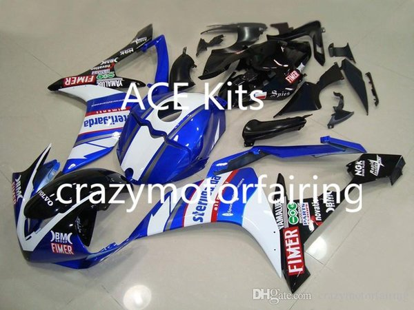 3 gifts New Injection ABS Fairing kits 100% Fit for YAMAHA YZFR1 07-08 YZF R1 2007-2008 YZF1000 bodywork Blue AP9