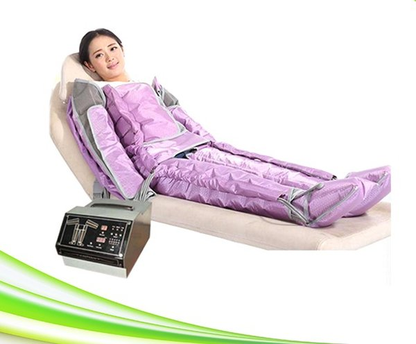 newest 48 airbags vacumterapia presoterapia apparatus lymphatic drainage air pressure therapy system