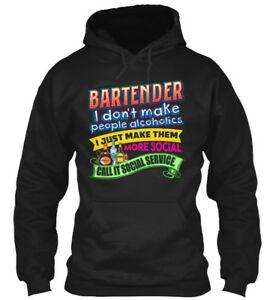Bartender Call It Shirtcial Service I Don 039 t Make People Shirt Hoodie Sweatshirt