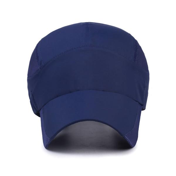 Outdoor Quick-Drying Hat Men Women Light Body Sun Cap Summer Tennis Ball Cap Anti-UV Protection Headwear