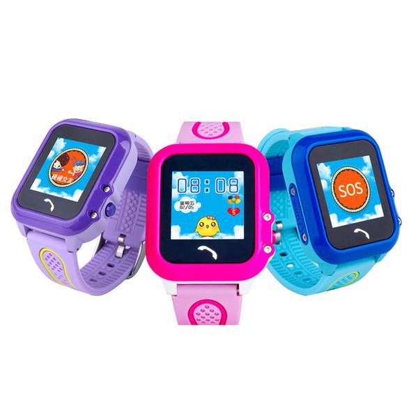 DF27 Waterproof Children GPS Swim Phone Smart Watch Baby Watch SOS Call Location Device Tracker Kids Safe Anti-Lost Monitor Smartwatch