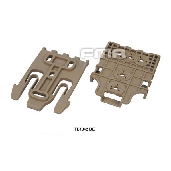 5PCS FMA Hunting Tactical Holster QLS Quick Locking System Kit TB1042-DE