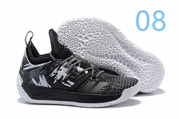 billig Adidas Harden B E Schuhe Herren (Grau Fünf Grau Zwei
