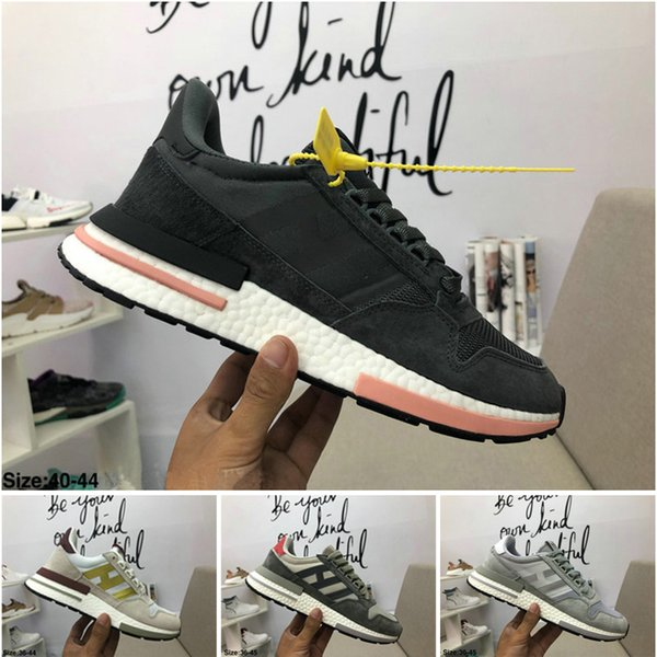 half off 55b98 ffab4 2019 2018 HOT SELL New Classic Casual Shoes ZX 500 RM Shoes Women And Men  Running Shoes ZX500 Designer Luxury Sneakers Size 36 44 From Max97air2019,  ...