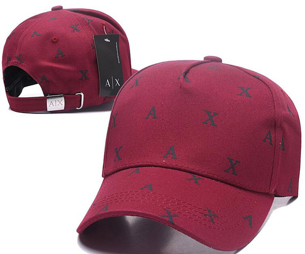 Nueva moda rara AX sombreros Marca Hundreds Tha Alumni Strap Back Cap hombres mujeres hueso snapback Panel ajustable Casquette golf deporte béisbol gorra