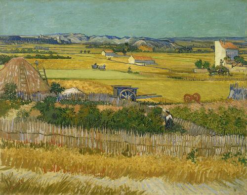 Van Gogh tarafından Hasat Ev Duvar Sanatı Dekor El Sanatları / HD Baskı yağlıboya tuval Duvar Sanatı Tuval Resimleri 190829