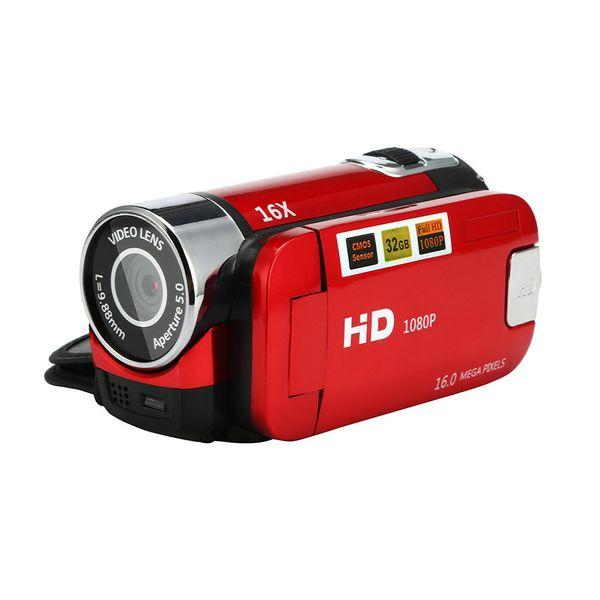 Cámara de video HD 1080P Videocámara 16x Zoom digital Cámaras digitales de mano