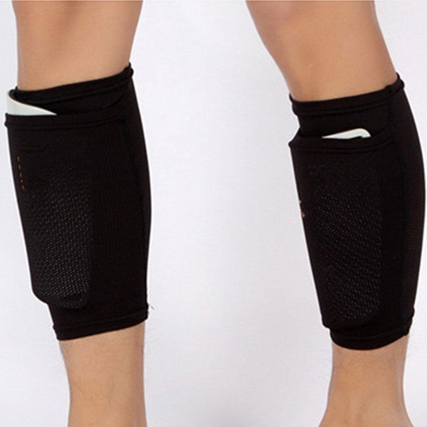 1 Pair 22CM Soccer Protective Socks Shin Guard For Cycling Football Basketball Shin Pads Leg Sleeves Sports Safety Leg Warmers