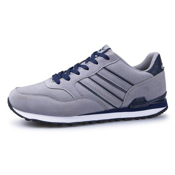 Yeni erkek ayakkabıları ilkbahar ve yaz spor ayakkabı rahat moda Kore versiyonu koşu nefes deri