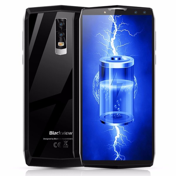 Original Blackview P10000 Pro 4G Mobile Phone Android 7.1 4GB+64GB Octa Core Smartphone 11000mAh Battery Face ID Cell phone