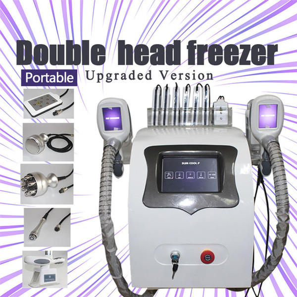 2019 2 cryo handles cryo freezing fat lipolysis machine price criolipolisis slimming machine fat freezing machine vacuum for cellulite