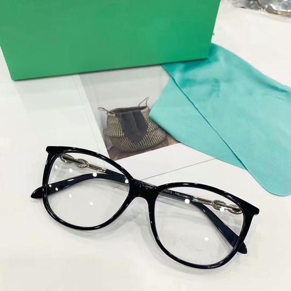 NEW TF2143 Brille Eleglant Frauen Rahmen Qualität künstliche Diamant Tempel reine Planke verschreibungspflichtige galssses 53-15-140 vollen Fall