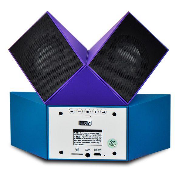 Story2019 Cubo Mágico D-298 Bluetooth 4.1 Caixa de Alto-falante Sem Fio Do Computador Graves graves Surround de Áudio Originalidade Dobrável