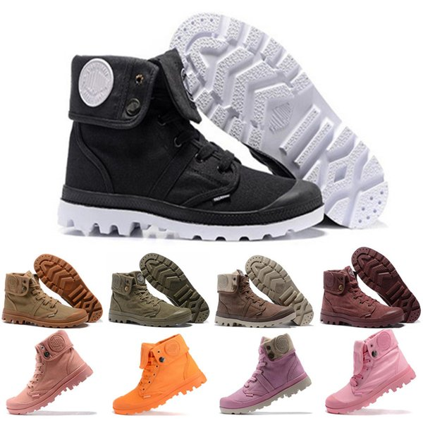 New Arrival Original PALLADIUM Women Medium pampa pufdie lite wp high cut leather outerdoor boots men women working boot size 36-45
