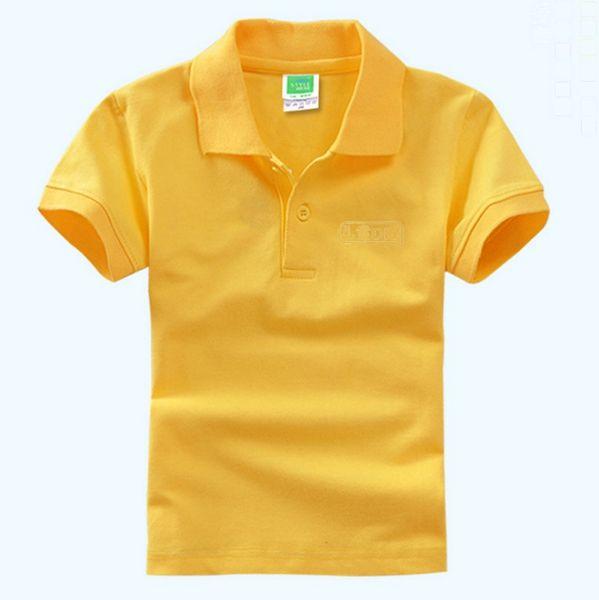top popular Kids T Shirts DIY Short Sleeve Baby Boy POLOS Blank Baby Girls Shirts Monogrammable Children Tops Kindergarten Kids Outfits WZW-YW2806 2021