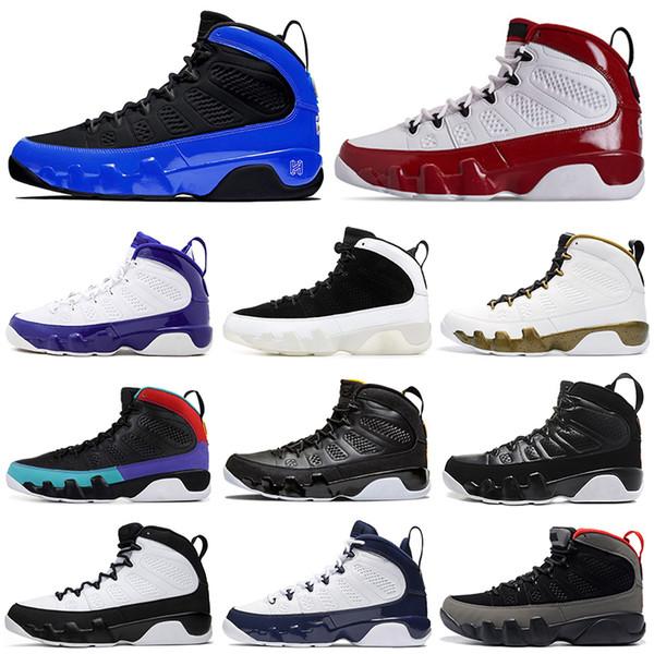 New 9 9 men ba ketball hoe gym red racer blue citru dream it do it unc pace jam men trainer port neaker 7 13