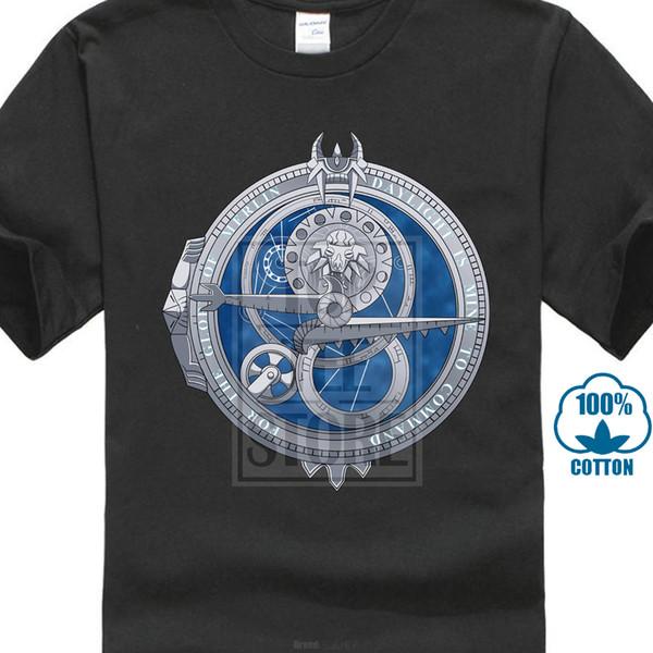 Amulet Of Daylight T-shirt Men Adventure Movie T Shirt Trollhunter Tshirt Cotton Black 3d Anime Top Tee Streetwear