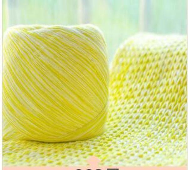 Coarse wool hand knitted scarf baby cotton thread ice slipper thread crochet hook shoe thread