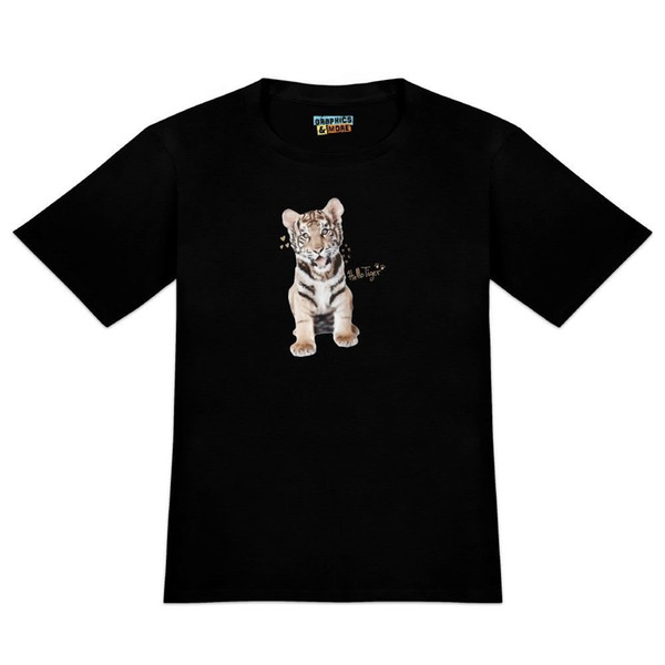 Hello Tiger Cub Jungle Kitten Cat Men's Novelty T-Shirt Size Discout Hot New Tshirt Short Sleeve Plus Size t-shirt