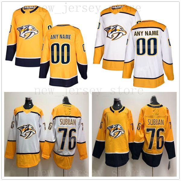 watch 1fb41 3333e 2019 Custom Nashville Predators Hockey Jersey White 20 Miikka Salomaki 74  Juuse Saros 10 Colton Sissons 51 Austin Watson 7 Yannick Weber Jerseys From  ...