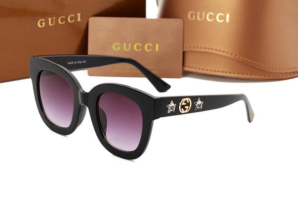 2018 fabrik großhandel 9290 sonnenbrille frauen mode persönlichkeit platz rahmen designer shades UV protecton spiegel sonnenbrille