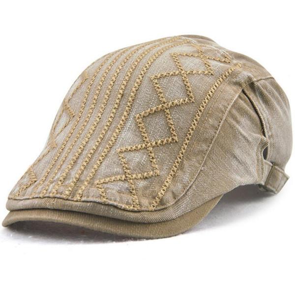 Cotton Flat Cap Newsboy Ivy Irish Cabbie Scally Driving Caps Sun Duckbill Hats Men's Women's Beret Outdoor Sports Vintage Adjustable 12624