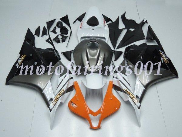 Molde de inyección Nuevo estilo ABS Kits de carenados de motocicleta aptos para HONDA CBR600RR F5 2009 2010 2011 2012 cbr600 600rr negro gris