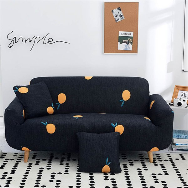 Black Wave Point Sectional Sofa Cover Couch Covers For Sofas Home Furniture  Protector For Living Room Of Home Furniture Protector Sofa Slipcover ...