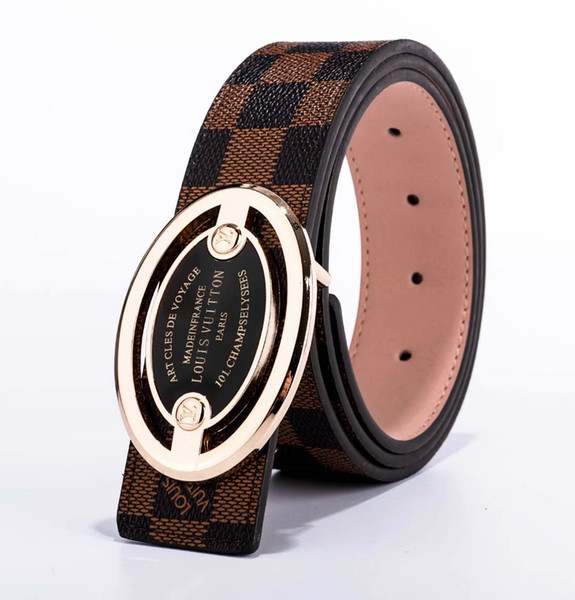 professional designer design men and women fashion new belt, excellent quality, automatic buckle Korean version, free delivery