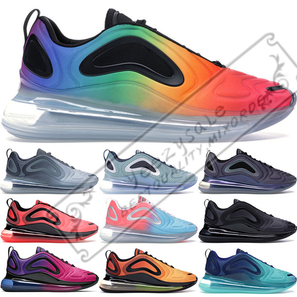 top popular 2019 Hot Lava Running Shoes For Men Women Betrue Sunrise Sunset Northern Lights Carbon Grey Gold Total Eclipse Sport Sneakers 36-45 2019
