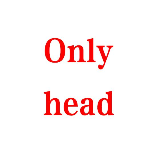 Only head