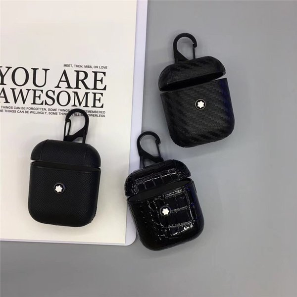 EGEEDIGI pour Apple Airpods haute qualité affaire cas souple ultra-mince protecteur de doublure en fibre pour AriPods1 2 casque Bluetooth set
