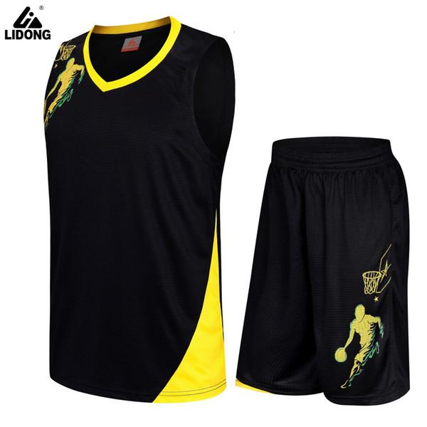 Cheap Diy Kids Basketball Jersey Sets Uniforms Kits Child Boys Girls Sports Clothing Breathable Mens Training Basketball Jerseys Q190521