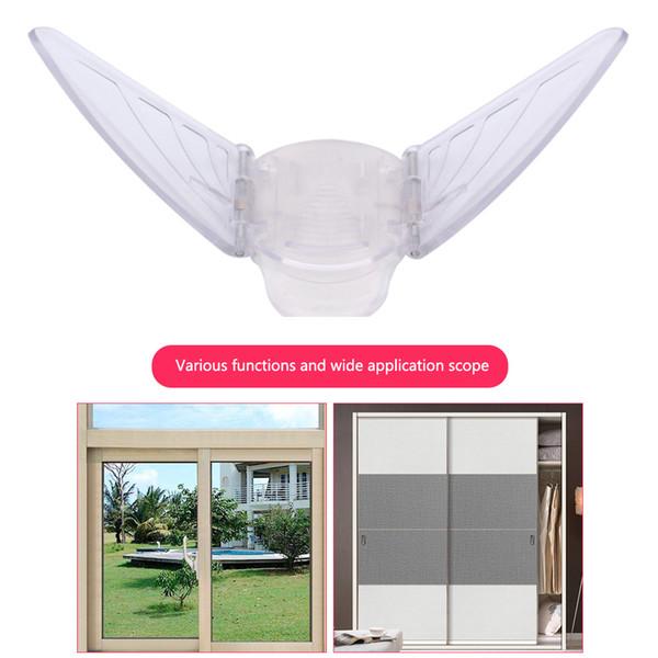 2шт раздвижные прочные дети милый уход за дверью бабочка украшения Детская безопасность защита ограничитель простой в использовании замок окна