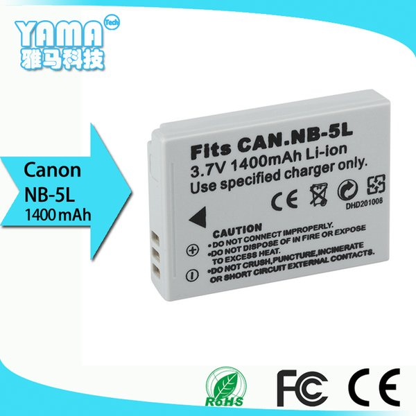 high quality Digital Camera Battery for Canon Nb-5L CanonIXUS 800/IS/850/900/TI/950/960/970/980