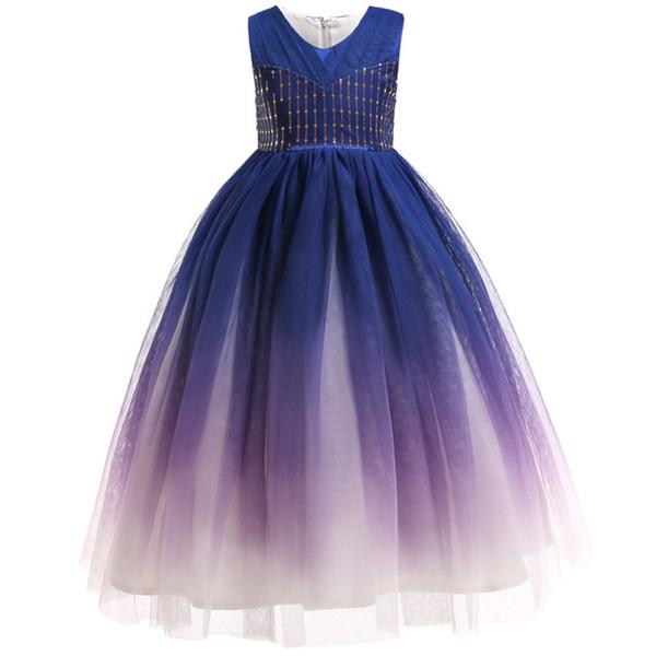 Acheter 2 12 Ans Filles Robes De Soirée De Mariage Ados Robe De Bal Bébé  Fille Fête D\u0027anniversaire Princesse Robe Enfants Vêtements Vêtements Pour
