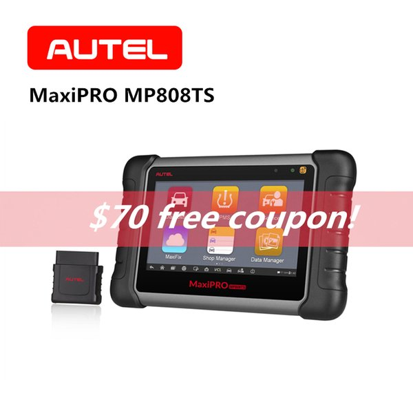 AUTEL MaxiPRO MP808TS OBD2 Scanner Automotive Vehicle Bluetooth OBDII Car Diagnostic Tool SRS TPMS Programming Code Reader