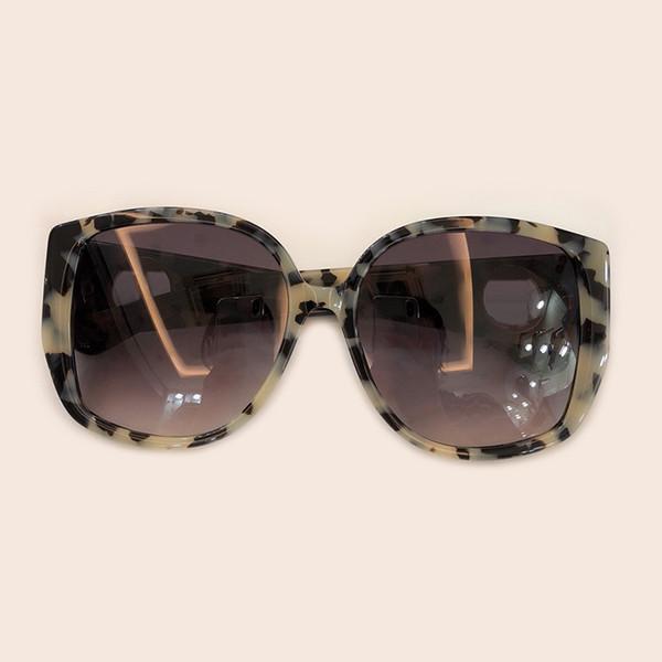Oval Kadın Güneş Gözlüğü Marka Tasarımcısı Kutu ile Oculos De Sol Feminino Yüksek Kalite Retro Moda Shades