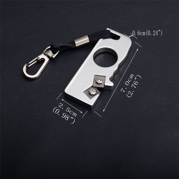 Kimter Mini-Field Blister Sharpener EDC Keychain Knife Outdoor Pocket Cutting Tools Camping Gear Top Quality Sharpners Xmas Gift P462R Q