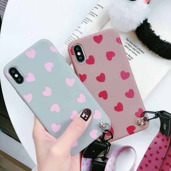 A variety of brands, a variety of specifications, a variety of models, love, cute, coffee, love, gray, love, thick, TPU material, mobile pho