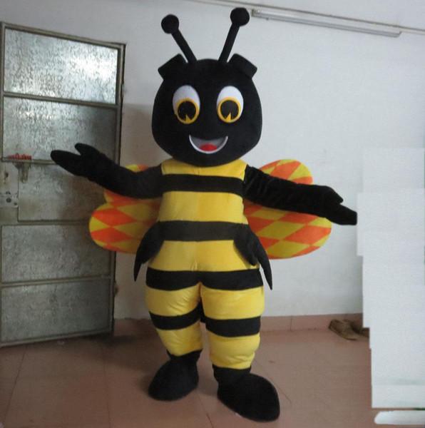 costume de mascotte heureux hornet vente chaude pour les adultes à vendre